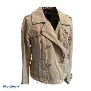 American Eagle Outfitters Double Breasted Jacket